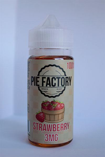 Pie Factory Strawberry e-liquid