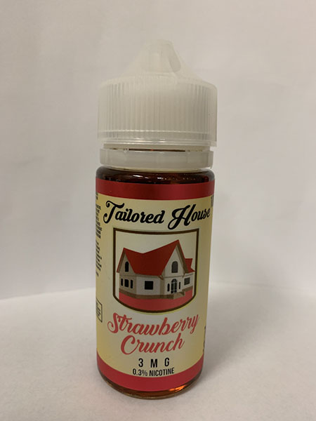 Tailored House Strawberry Crunch e-liquid