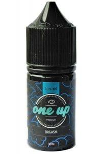 One Up Orgasm e-liquid bottle