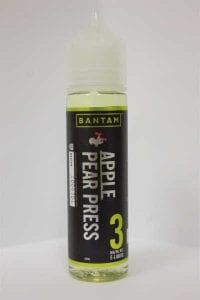Bantam Apple Pear Press e-liquid bottle