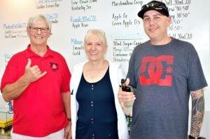 Bob, Patsy and Sean Anderson