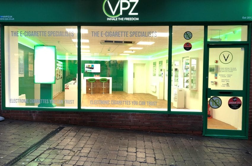 U.K. Vape Shops Closed; Factories, Online Sales Open