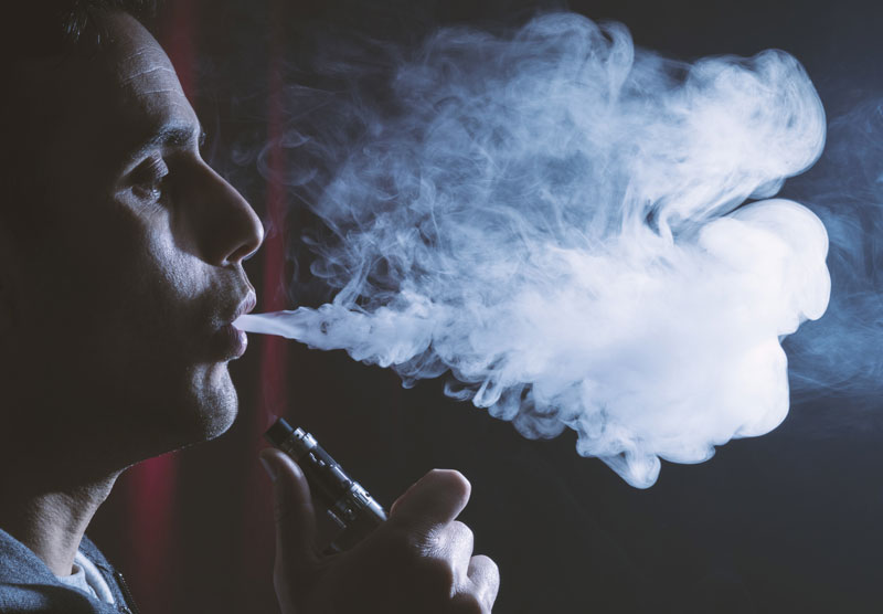 Vaping Less Likely to Become Long-Term Habit