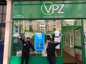 VPZ store in Bruntsfield, UK