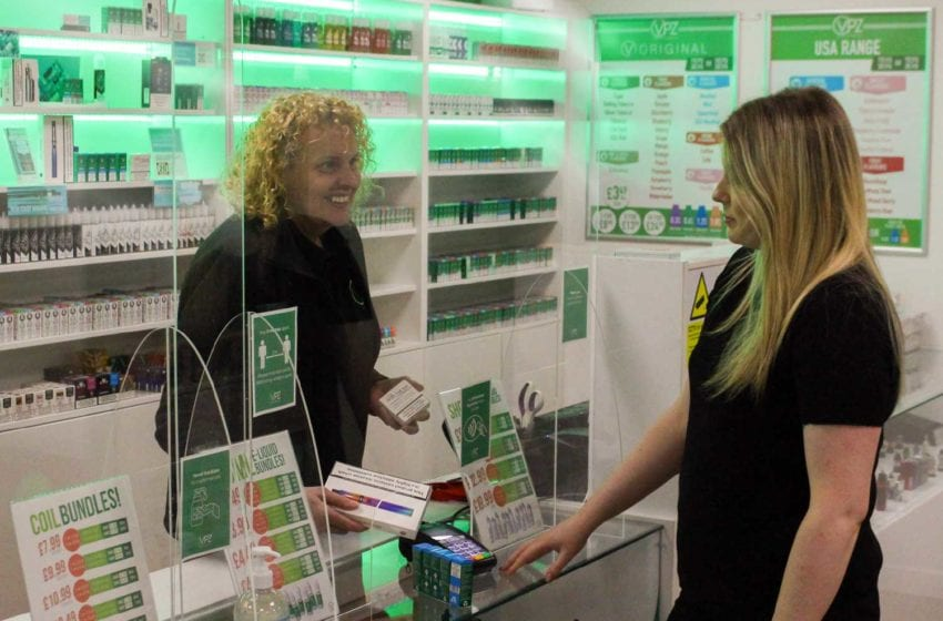 Vape Shops in England and Wales to Reopen on April 12