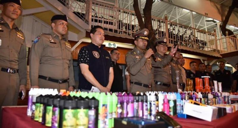 Bangkok Man Charged With Selling Illegal E-Cigarettes