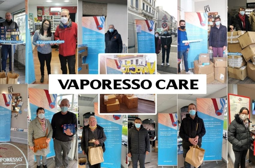 Vaporesso Working With Shops to Provide Relief in France