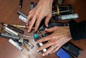 taking e-cigarettes