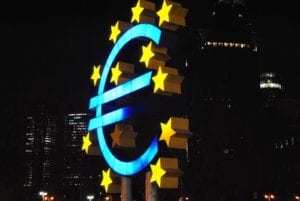 EU Euro lights