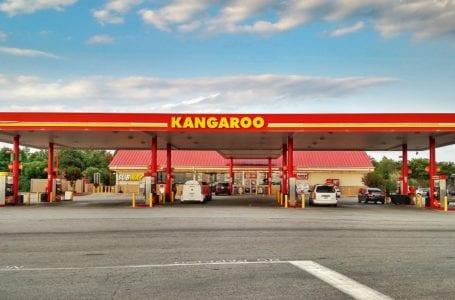 kangaroo gas station and store