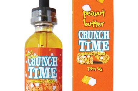 peanut butter crunch e-liquid bottle
