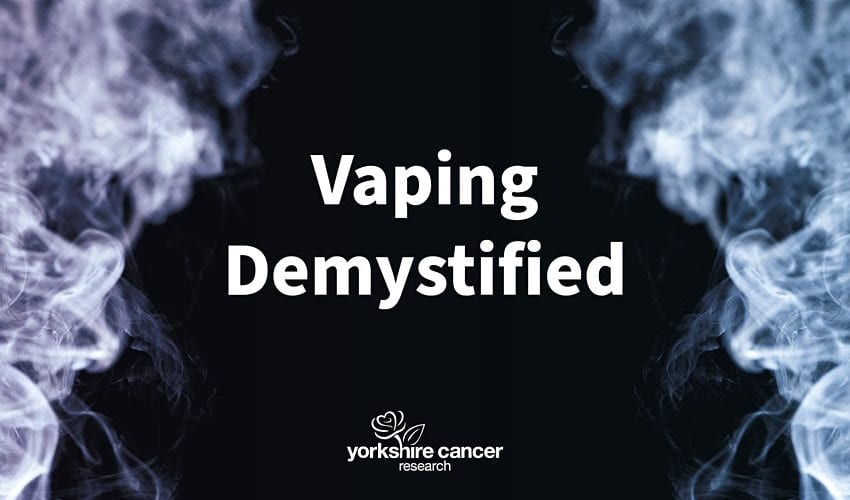 Cancer Charity Debuts Film to Battle Vaping Misinformation