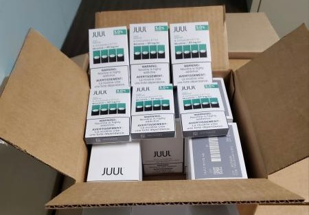 More Than 10,000 Illegal Juul Pods Seized by CBP
